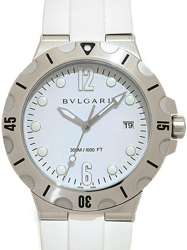 【BVLGARI】ブルガリ『ディアゴノ スクーバ 41mm』DP41SSD メンズ 自動巻き 3ヶ月保証【中古】