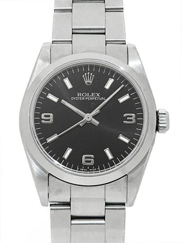 【ROLEX】【OH済】ロレックス『オイスターパーペチュアル』67480 N番'91年頃製 ボーイズ 自動巻き 12ヶ月保証【中古】