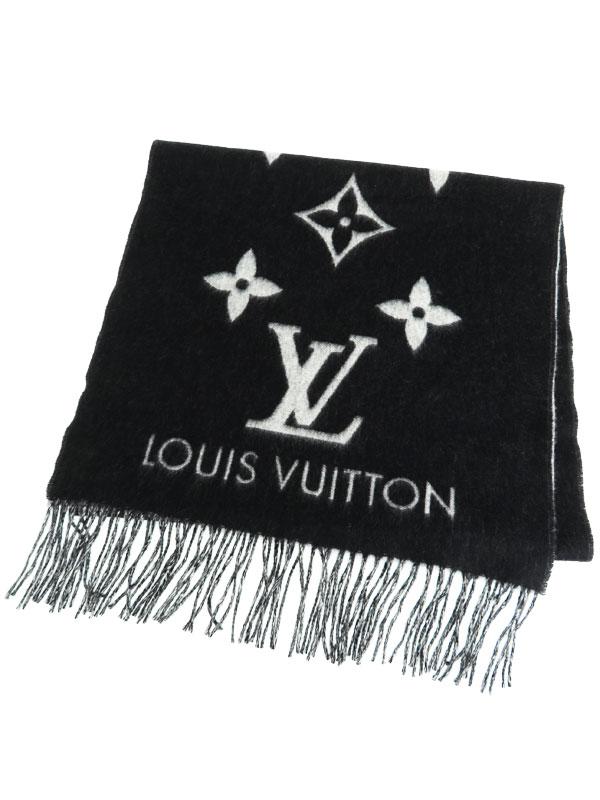 【LOUIS VUITTON】【イギリス製】ルイヴィトン『エシャルプ・レイキャビック』M71040 レディース マフラー 1週間保証【中古】