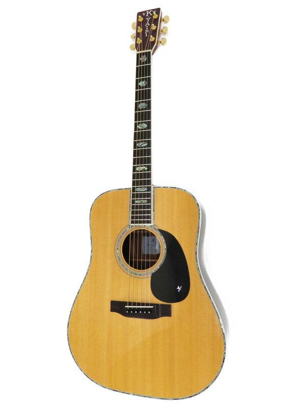 【K.Yairi】【工房メンテ】ケイヤイリ『アコースティックギター』YW-1000 CTM 2015年 1週間保証【中古】