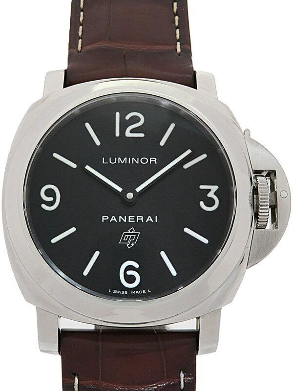 【PANERAI】【仕上済】パネライ『ルミノールベース ロゴ 44mm』PAM00000 R番'15年製 メンズ 手巻き 6ヶ月保証【中古】