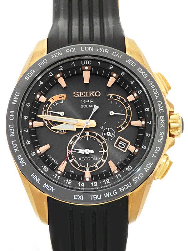 【SEIKO】セイコー『アストロン』SBXB055 8X53-0AC0 55****番 メンズ ソーラーGPS 1ヶ月保証【中古】