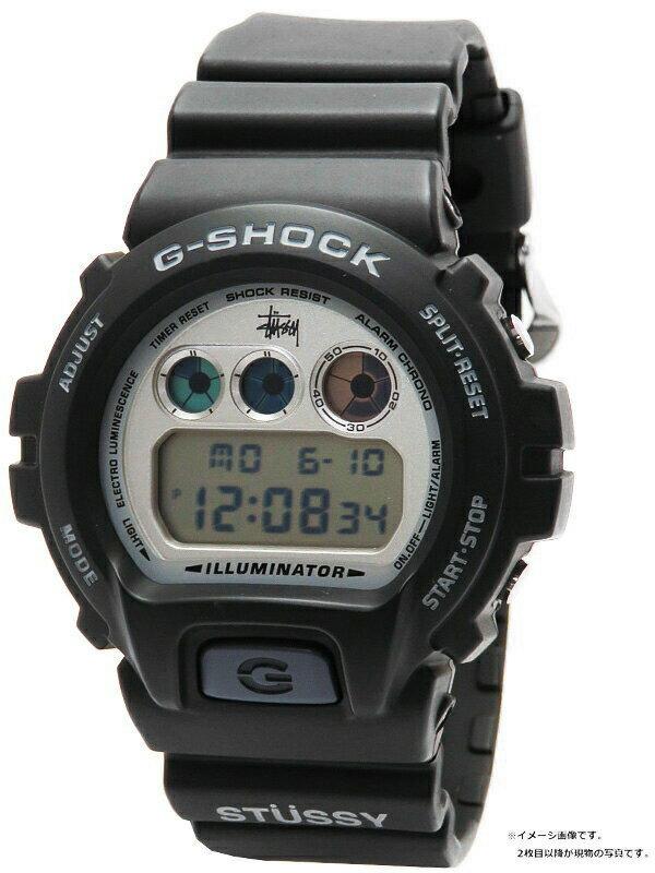 【CASIO】【G-SHOCK×STUSSY】カシオ『Gショック ステューシーコラボモデル』DW-6900STF-1 メンズ クォーツ 1週間保証【中古】