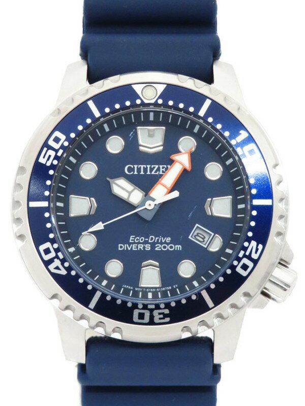 【CITIZEN】【海外モデル】シチズン『プロマスター エコドライブ ダイバー』BN0151-09L メンズ ソーラークォーツ 1週間保証【中古】