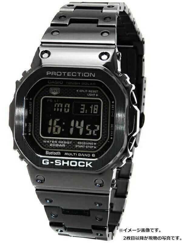 【CASIO】【G-SHOCK】【スマートフォンリンク】カシオ『Gショック』GMW-B5000GD-1JF ボーイズ ソーラー電波クォーツ 1ヶ月保証【中古】