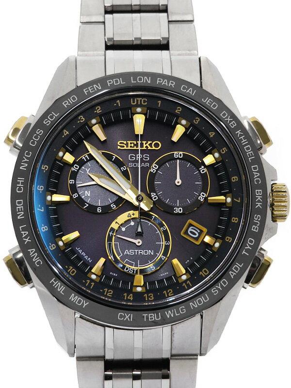 【SEIKO】セイコー『アストロン』SBXB007 8X82-0AB0 49****番 メンズ ソーラーGPS 1ヶ月保証【中古】