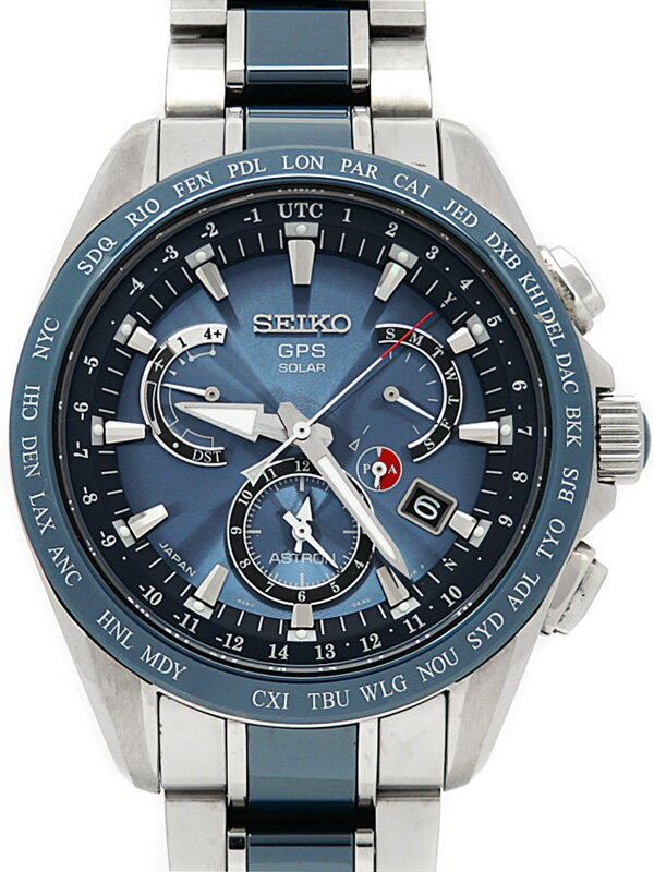 【SEIKO】セイコー『アストロン』SBXB043 8X53-0AB0 55****番 メンズ ソーラーGPS 1ヶ月保証【中古】