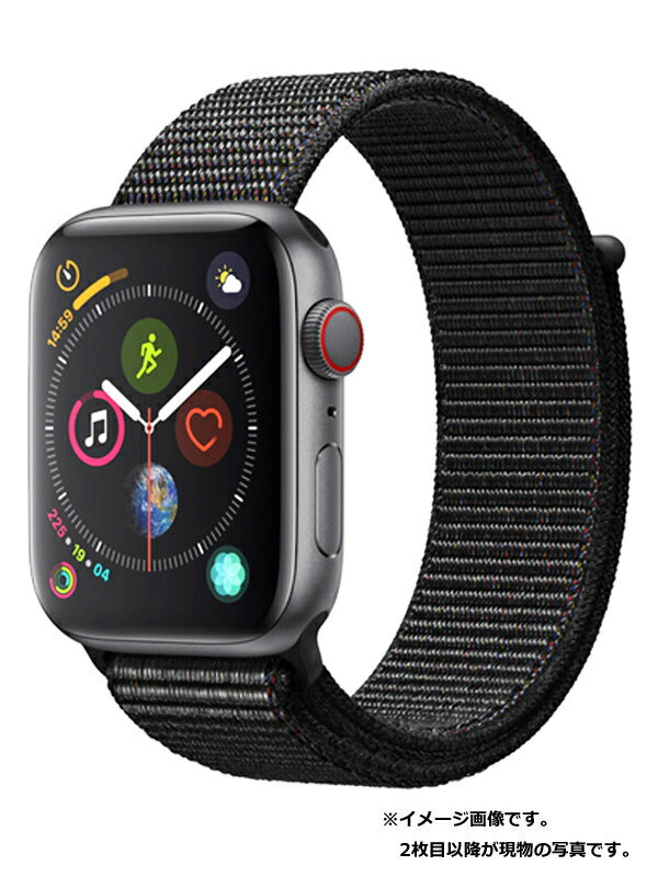 【Apple】【アップルウォッチ シリーズ4】アップル『Apple Watch Series 4 GPS+Cellularモデル 44mm』MTVV2J/A メンズ スマートウォッチ 1週間保証【中古】