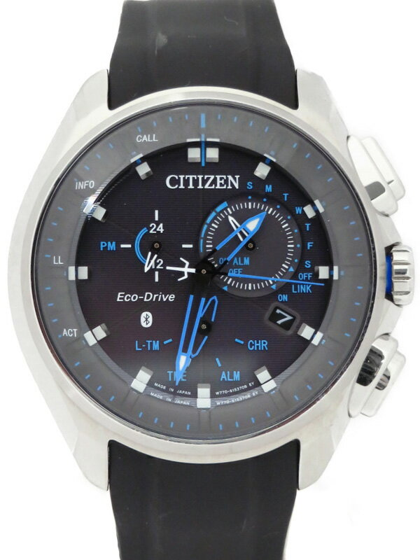【CITIZEN】【海外モデル】シチズン『エコドライブ』W770MV メンズ ソーラークォーツ 1週間保証【中古】