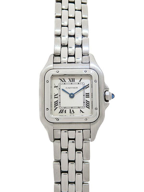 【Cartier】【OH・仕上・電池交換済】カルティエ『パンテールSM』W25033P5 レディース クォーツ 3ヶ月保証【中古】