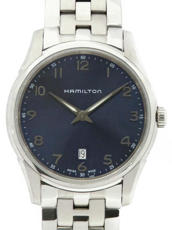 【HAMILTON】ハミルトン『ジャズマスター シンライン』H38511143 メンズ クォーツ 1週間保証【中古】