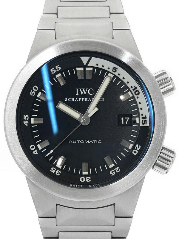 【IWC】インターナショナルウォッチカンパニー『アクアタイマー オートマティック』IW354805 メンズ 自動巻き 3ヶ月保証【中古】
