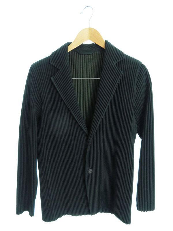 メンズファッション, コート・ジャケット ISSEY MIYAKEHOMME PLISSE size1HP73JD205 1b02fh02AB