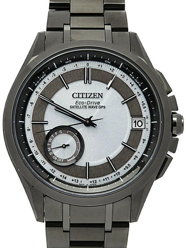 【CITIZEN】シチズン『アテッサ』CC3015-57A メンズ ソーラー電波GPS 1ヶ月保証【中古】
