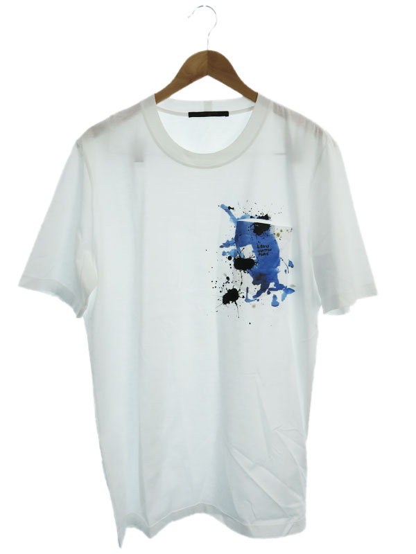 【LOUIS VUITTON】【イタリア製】【トップス】ルイヴィトン『半袖Tシャツ sizeXL』RM172M JOB HDY22W メンズ カットソー 1週間保証【中古】