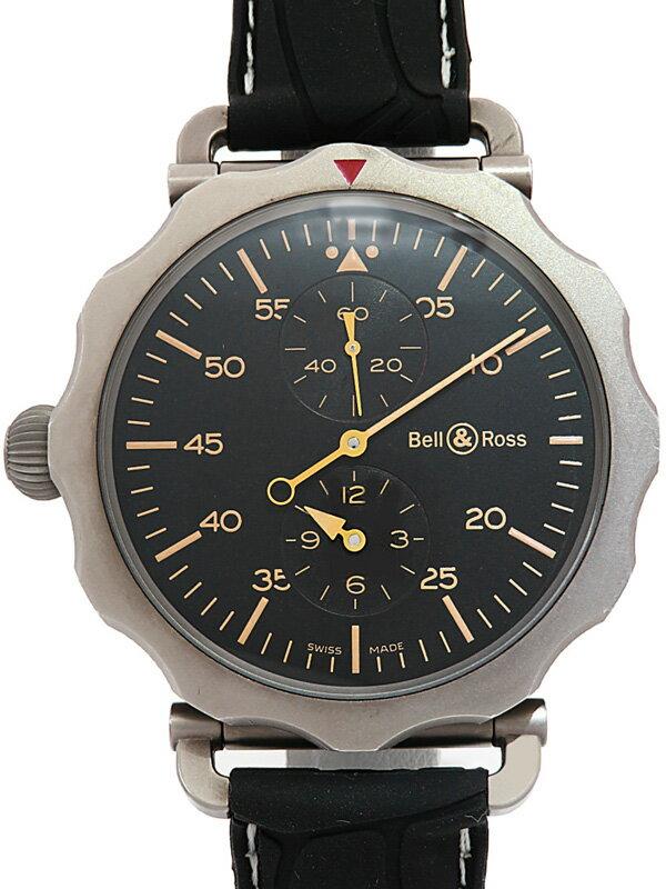 【Bell&Ross】ベルアンドロス『WW2 レギュレーター ヘリテージ』BR WW2-71-SP メンズ 自動巻き 3ヶ月保証【中古】