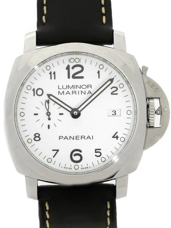 【PANERAI】【裏スケ】パネライ『ルミノール 1950 3デイズ アッチャイオ 44mm』PAM00499 R番'15年製 メンズ 自動巻き 6ヶ月保証【中古】