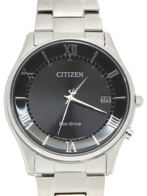 【CITIZEN】シチズン『シチズンコレクション エコドライブ』AS1060-54E メンズ ソーラー電波 1ヶ月保証【中古】