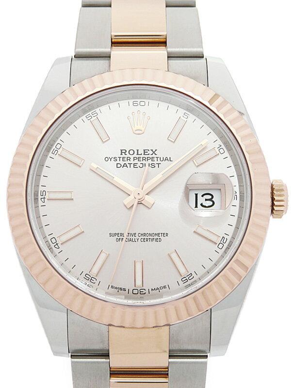 【ROLEX】ロレックス『デイトジャスト41』126331 ランダム番 メンズ 自動巻き 12ヶ月保証【中古】