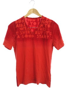 【Maison Margiela】【エイズT】【トップス】メゾンマルジェラ『Vネック半袖Tシャツ sizeS』S30GJ0007 S20299 2018 02 メンズ カットソー 1週間保証【中古】b05f/h07B