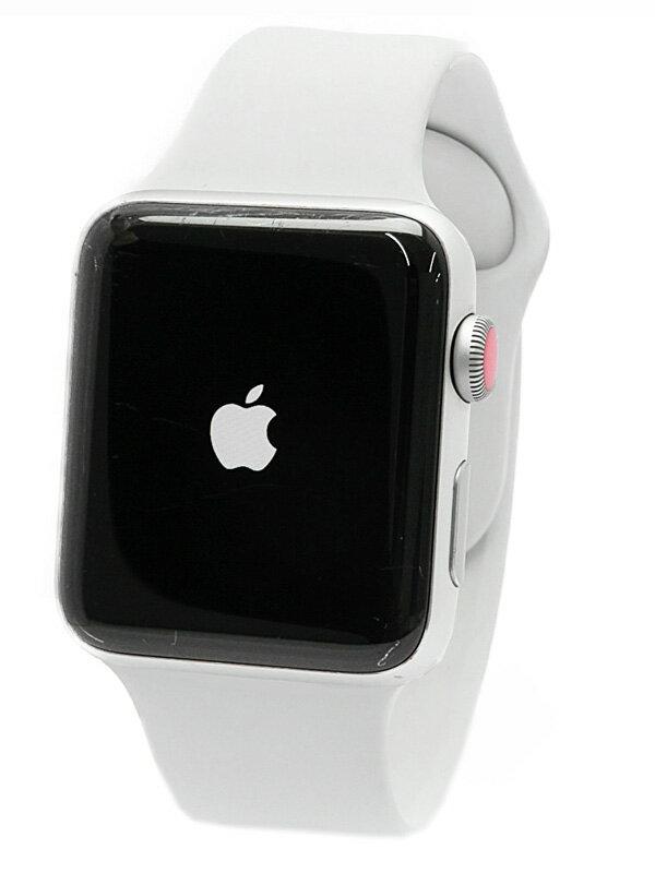 【Apple】【アップルウォッチ シリーズ3】アップル『Apple Watch Series 3 GPS+Cellularモデル 42mm』MQKQ2J/A メンズ スマートウォッチ 1週間保証【中古】