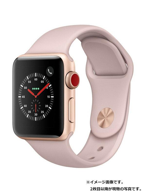 【Apple】【アップルウォッチシリーズ3】アップル『Apple Watch Series 3 GPS+Cellularモデル 38mm』MQKH2J/A ボーイズ スマートウォッチ 1週間保証【中古】