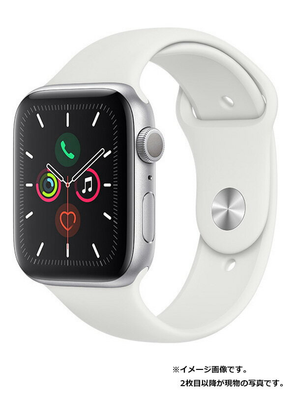 【Apple】【アップルウォッチ シリーズ5】【美品】アップル『Apple Watch Series 5 GPSモデル 44mm』MWVD2J/A メンズ スマートウォッチ 1週間保証【中古】