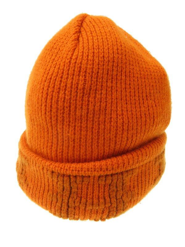 【HERMES】【マルジェラ期】【イタリア製】エルメス『カシミヤニット帽 sizeLA』レディース 帽子 1週間保証【中古】