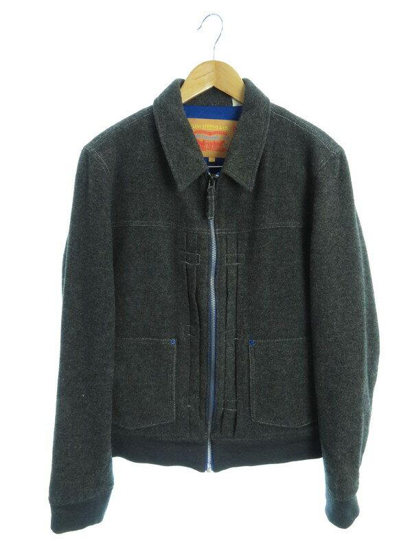 【LEVIS】【アウター】リーバイス『中綿ジップジャケット size2』07123-0001 メンズ 1週間保証【中古】