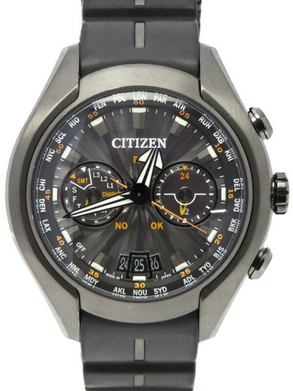 【CITIZEN】シチズン『プロマスター エコドライブ サテライトウェーブ』CC1075-05E メンズ ソーラー電波GPS 1ヶ月保証【中古】
