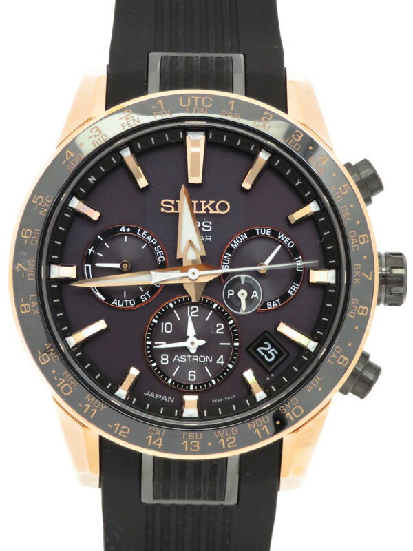 【SEIKO】【'20年購入】セイコー『アストロン』SBXC006 5X53-0AB0 8O****番 メンズ ソーラー電波GPS 3ヶ月保証【中古】