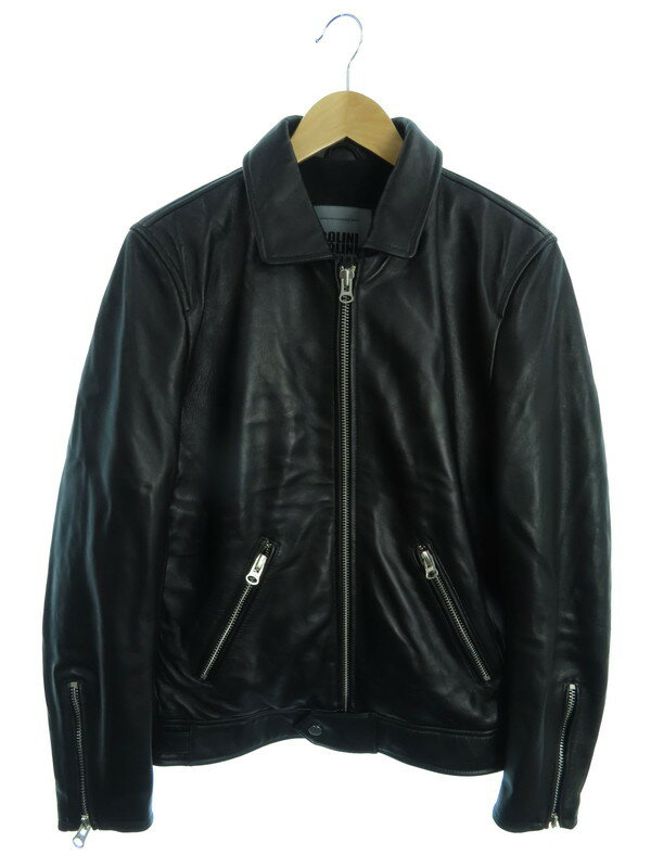【BOLINI】【ボリニ】【アウター】ノーブランド『レザージャケット size46』メンズ 1週間保証【中古】