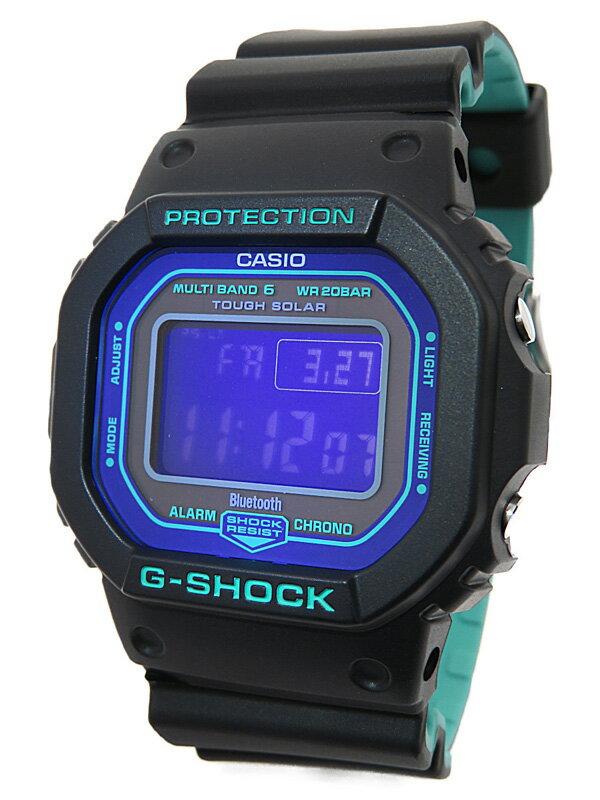 【CASIO】【G-SHOCK】【海外モデル】カシオ『Gショック スペシャルカラー』GW-B5600BL-1 ボーイズ ソーラー電波クォーツ 1週間保証【中古】