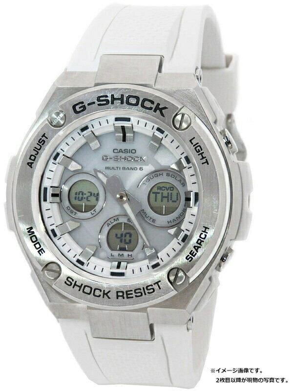 【CASIO】【G-SHOCK】【'19年購入】カシオ『Gショック Gスチール』GST-W310-7AJF メンズ ソーラー電波クォーツ 1週間保証【中古】