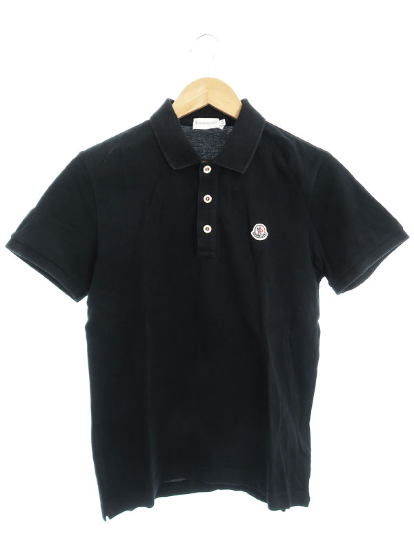 【MONCLER】【トップス】モンクレール『MAGLIA POLO MANICA CORTA 半袖ポロシャツ sizeXS』2014 メンズ 1週間保証【中古】