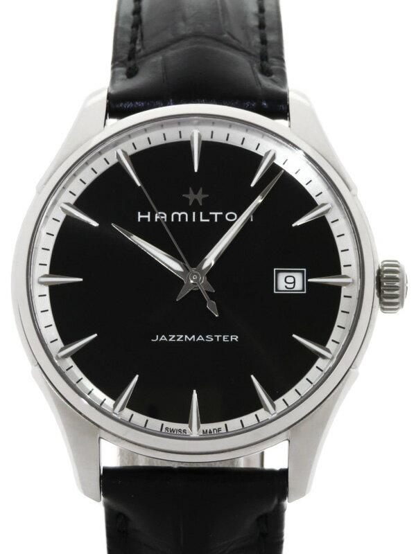 【HAMILTON】【'19年購入】ハミルトン『ジャズマスター ジェント』H32451731 メンズ クォーツ 1週間保証【中古】