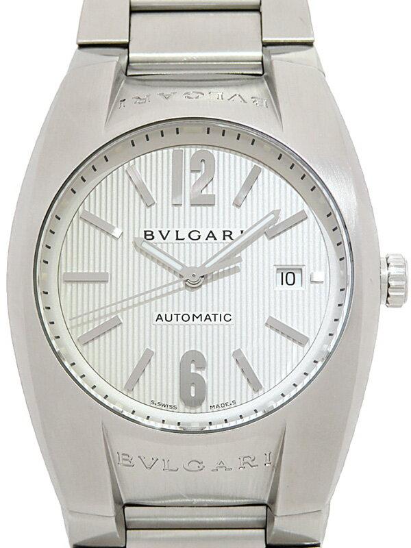 【BVLGARI】ブルガリ『エルゴン』EG40S メンズ 自動巻き 1ヶ月保証【中古】