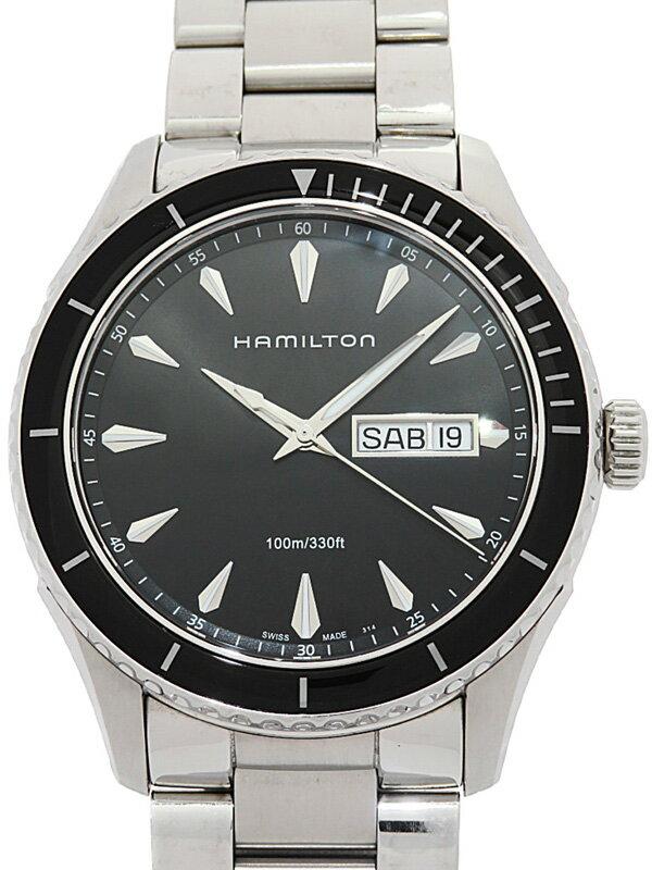 【HAMILTON】ハミルトン『ジャズマスター シービュー デイデイト』H37511131 メンズ クォーツ 1週間保証【中古】