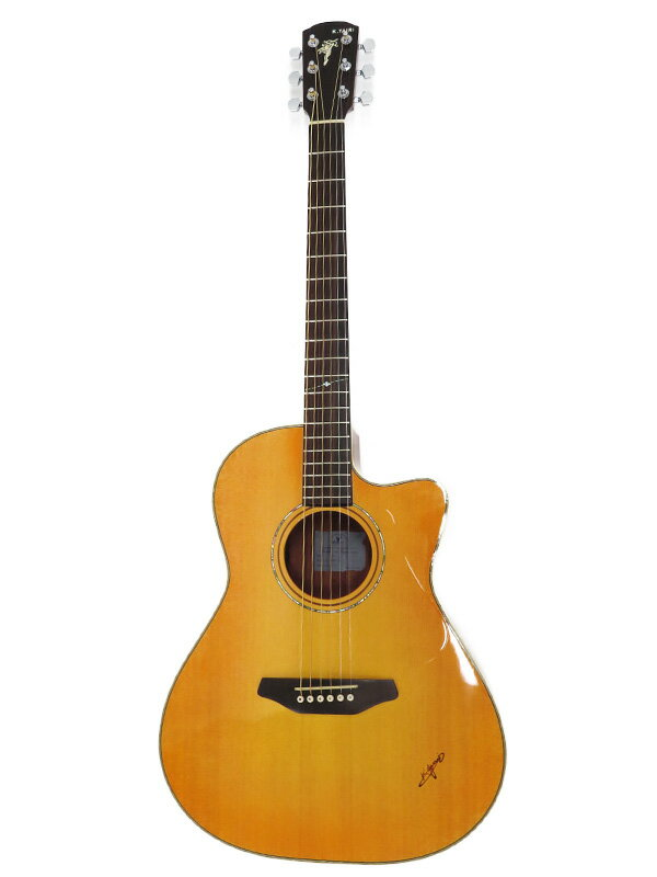 【K.Yairi】ケイヤイリ『E.アコースティックギター』SMR-1C 2015年製 エレアコギター 1週間保証【中古】