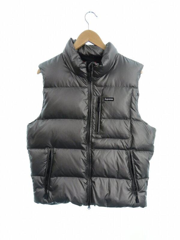 【Supreme】【Silver Ski Vest】【トップス】シュプリーム『中綿ベスト sizeL』13FW メンズ 1週間保証【中古】