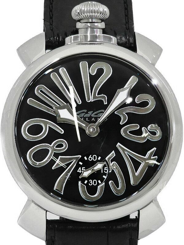 腕時計, メンズ腕時計 GaGa MILANO 48mm5010.04S 1b03wh03B