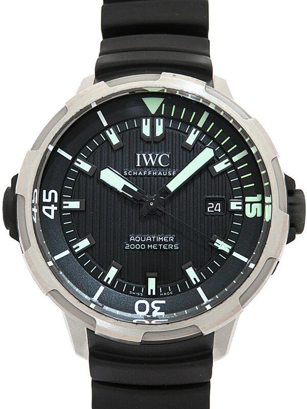 【IWC】インターナショナルウォッチカンパニー『アクアタイマー オートマティック 2000』IW358002 メンズ 自動巻き 6ヶ月保証【中古】