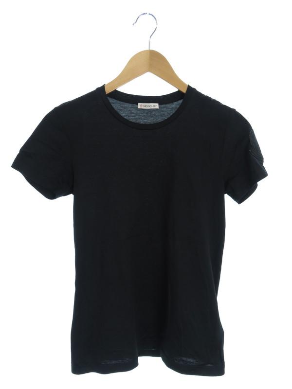 【MONCLER】【ルーマニア製】【トップス】モンクレール『T-SHIRT GIROCOLLO 半袖Tシャツ sizeXS』2018 レディース 1週間保証【中古】