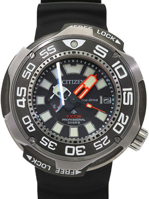 【CITIZEN】シチズン『プロマスター エコドライブ ダイバーズウォッチ』BN7020-09E メンズ ソーラークォーツ 3ヶ月保証【中古】