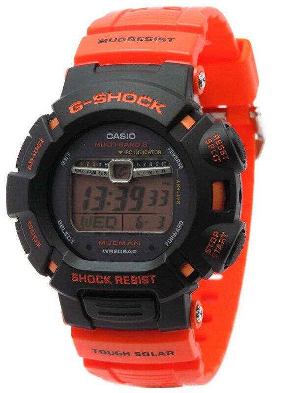 【CASIO】【G-SHOCK】カシオ『Gショック マッドマン』GW-9010R-4JF メンズ ソーラー電波クォーツ 1週間保証【中古】