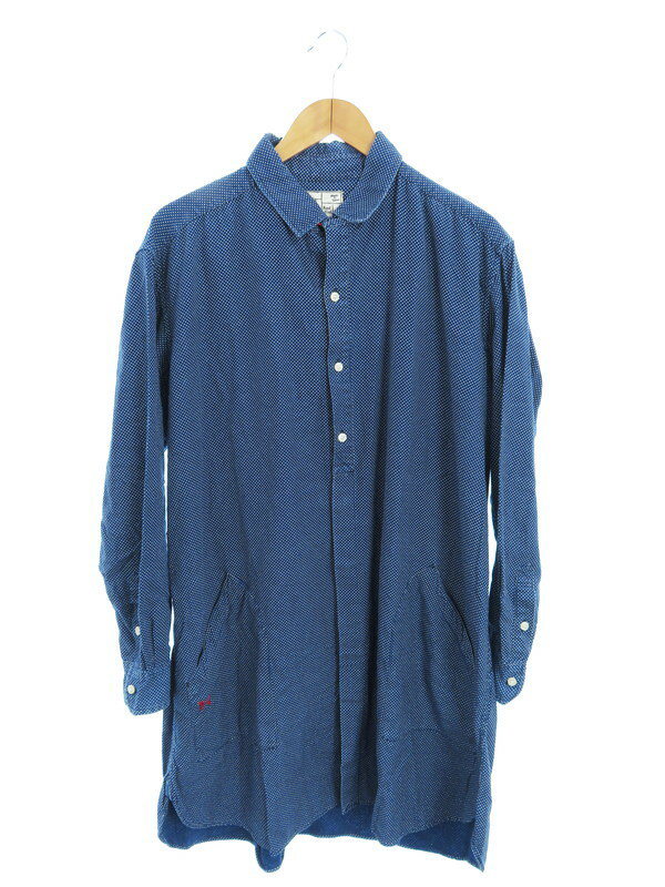 【Porter Classic】【日本製】ポータークラシック『水玉柄オーバーサイズシャツ sizeM』メンズ トップス 1週間保証【中古】