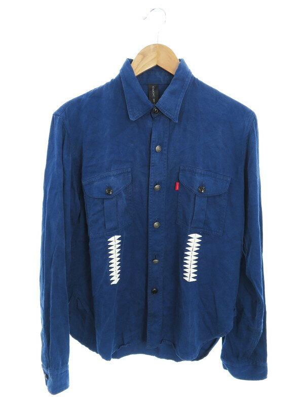 【NEON SIGN】【日本製】【トップス】ネオンサイン『長袖シャツ size2』メンズ 1週間保証【中古】