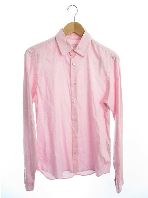 【PRADA】【イタリア製】プラダ『長袖シャツ size38/15』2007 メンズ 1週間保証【中古】