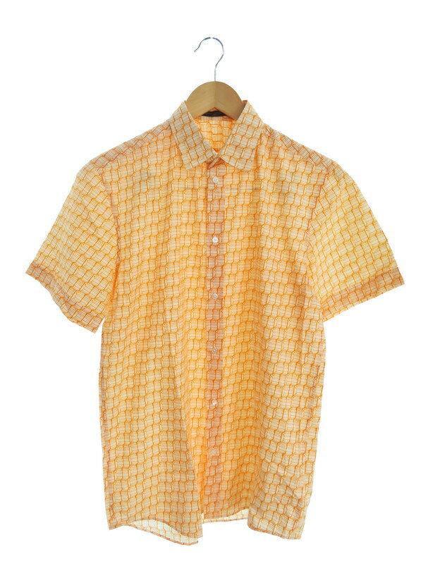 【LOUIS VUITTON】【イタリア製】【トップス】ルイヴィトン『半袖シャツ sizeS』RM101M MQSH30BES メンズ 1週間保証【中古】
