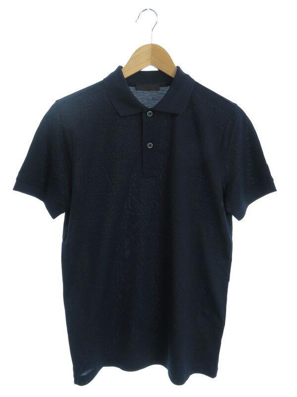 【PRADA】【ルーマニア製】【トップス】プラダ『半袖ポロシャツ sizeXS』メンズ 1週間保証【中古】